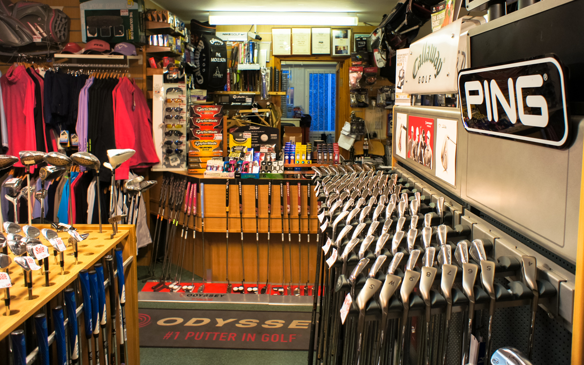 Golf Shop in Cornwall