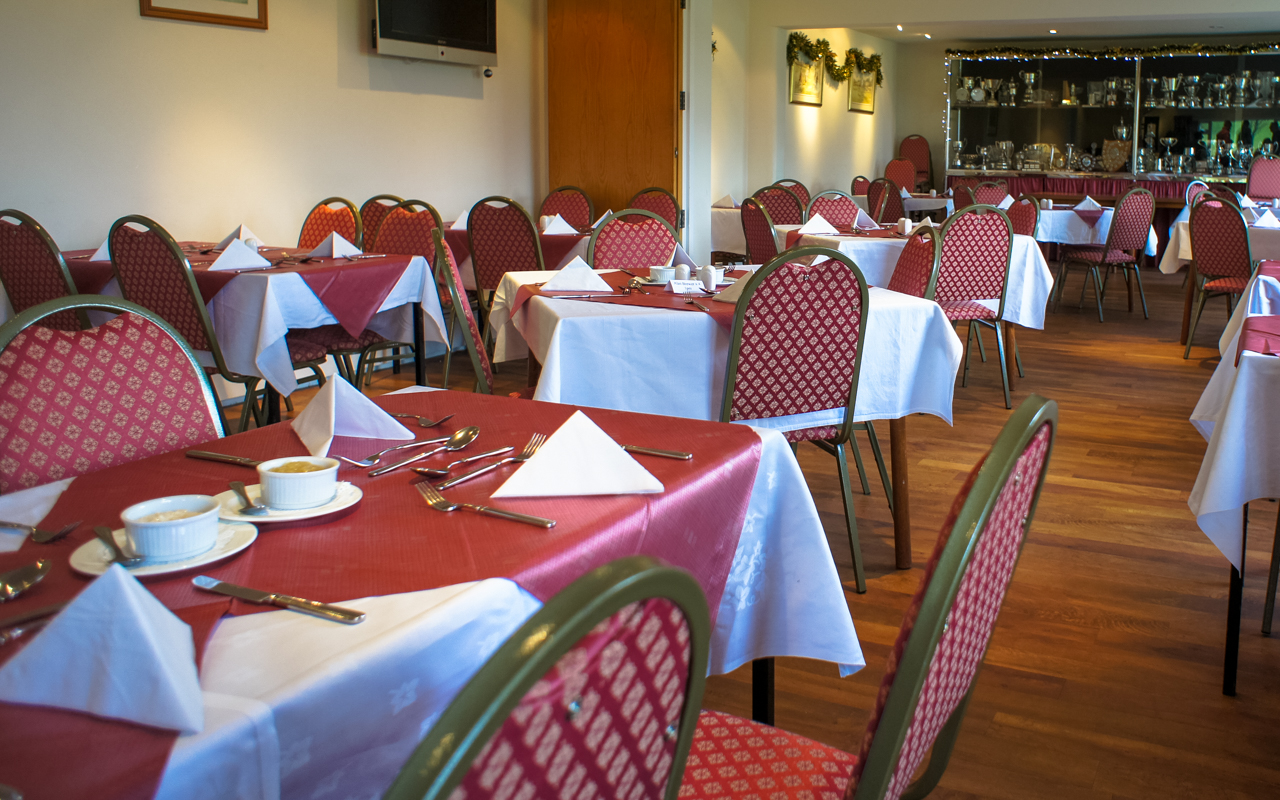 Restaurant at St Austell Golf Club