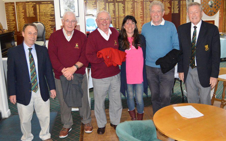 Seniors Winners Falmouth Open 2016