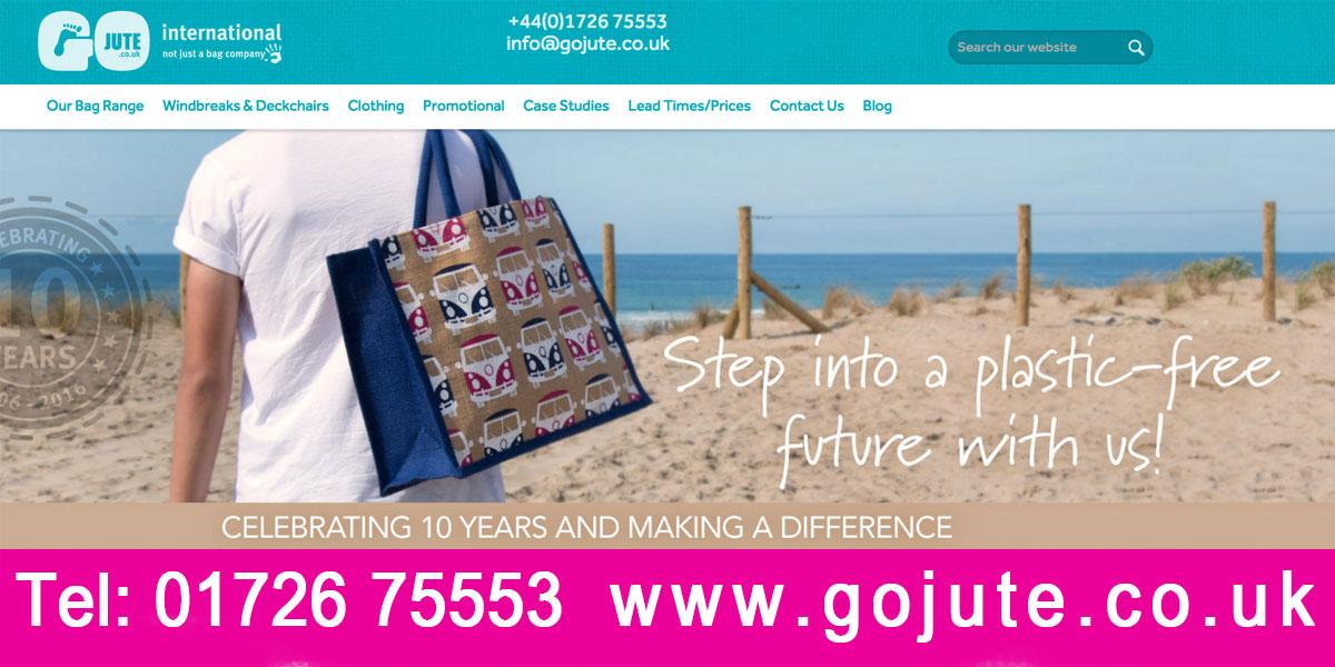 Jute Bags in Cornwall