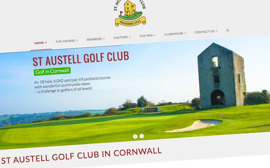 Garden Centre: New Website For St Austell Golf Club