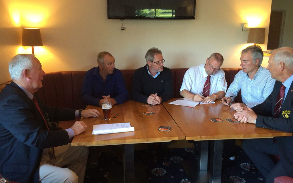 Signing of the new Golf Club Lease June 2016
