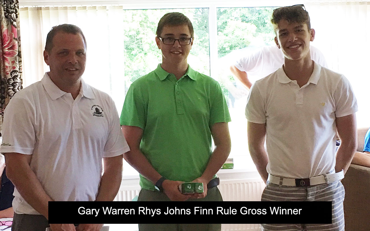 Gary Warren Rhys Johns Finn Rule Gross Winner