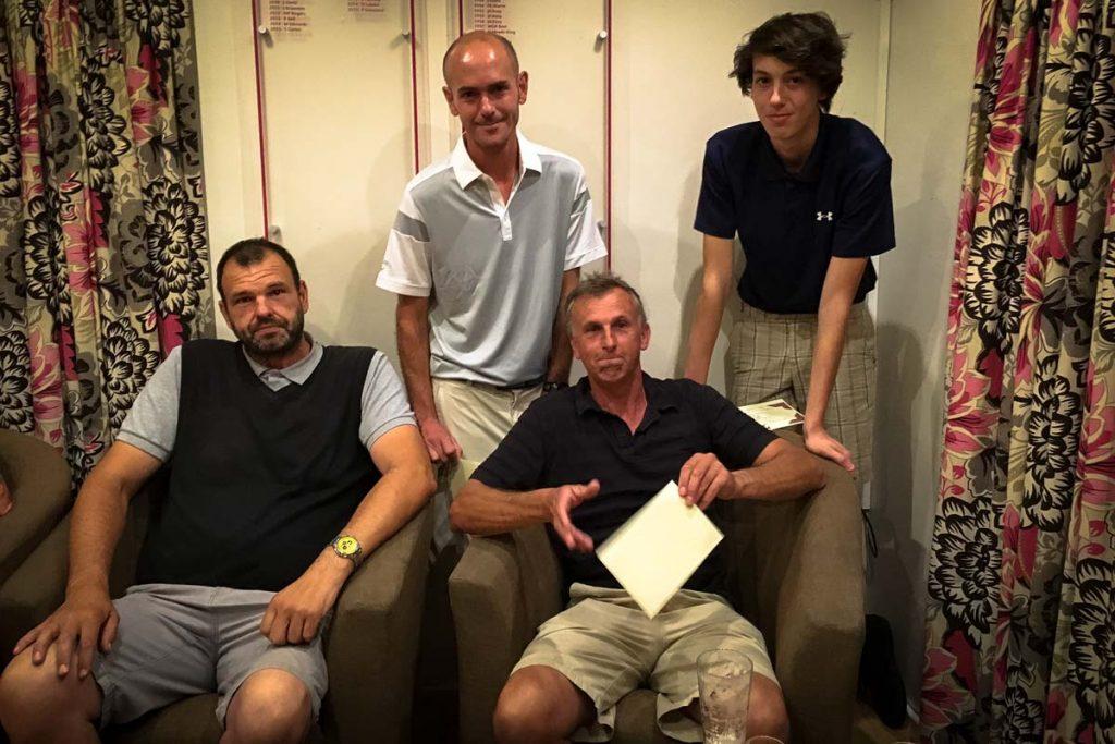 Paul Jackson, Lewis Jackson, Jim Oliver & Dave Tregidgo (Porthpean)