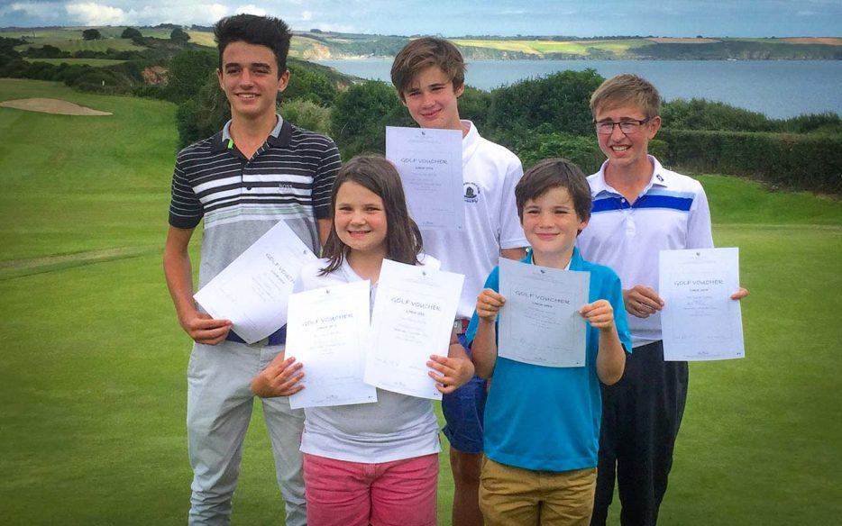 Garden Centre: Carlyon Bay Junior Open 2016