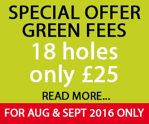 Special Offer Green Fees in Cornwall