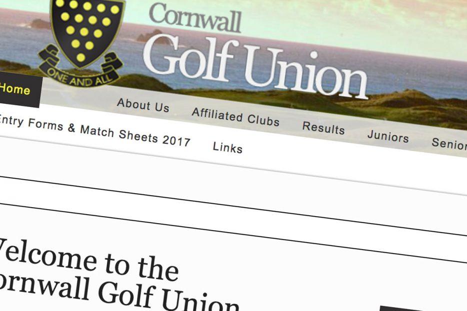 Cornwall Golf Union