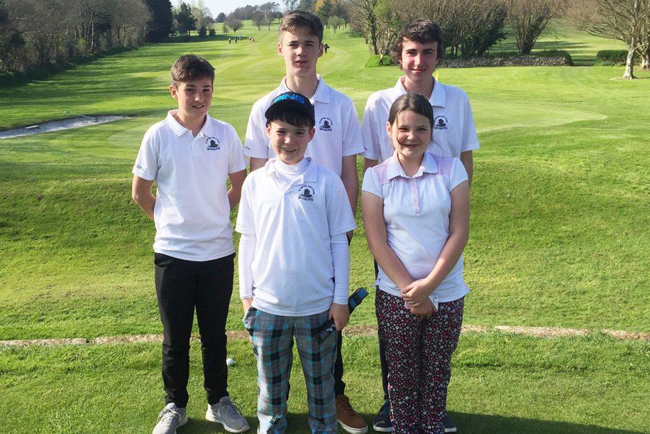 Garden Centre: Launceston Junior Open Fri 7th April 2017